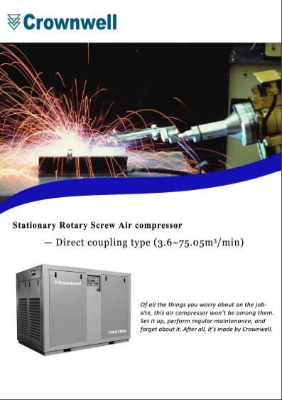 Crownwell Rotary Screw Air Compressor