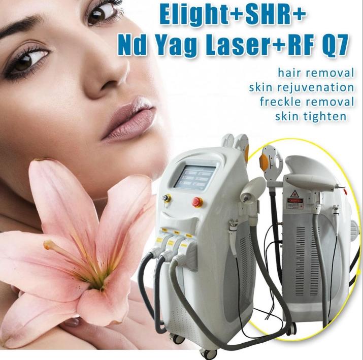 4 in 1 ML Elight+shr+laser+rf machine