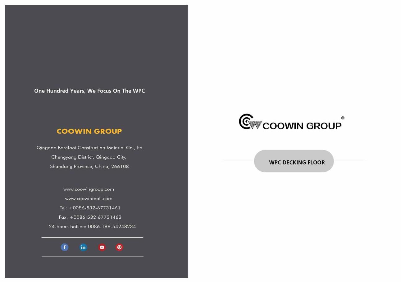 Coowin Composite Decking Catalogue