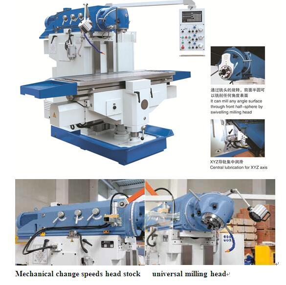 Ram Type Universal Milling Machine