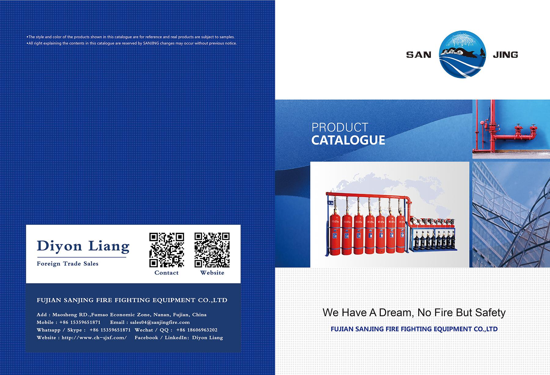 Catalogue-Sanjing Fire Fighting Equipment Co.,Ltd