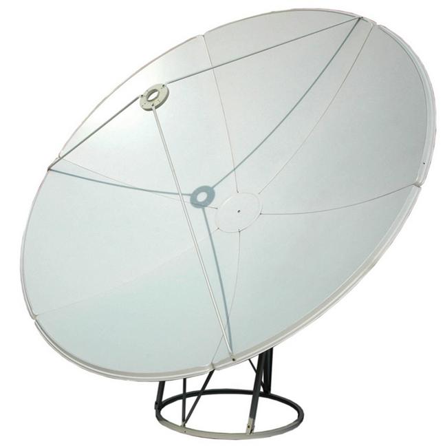 Solid antenna c/ku band