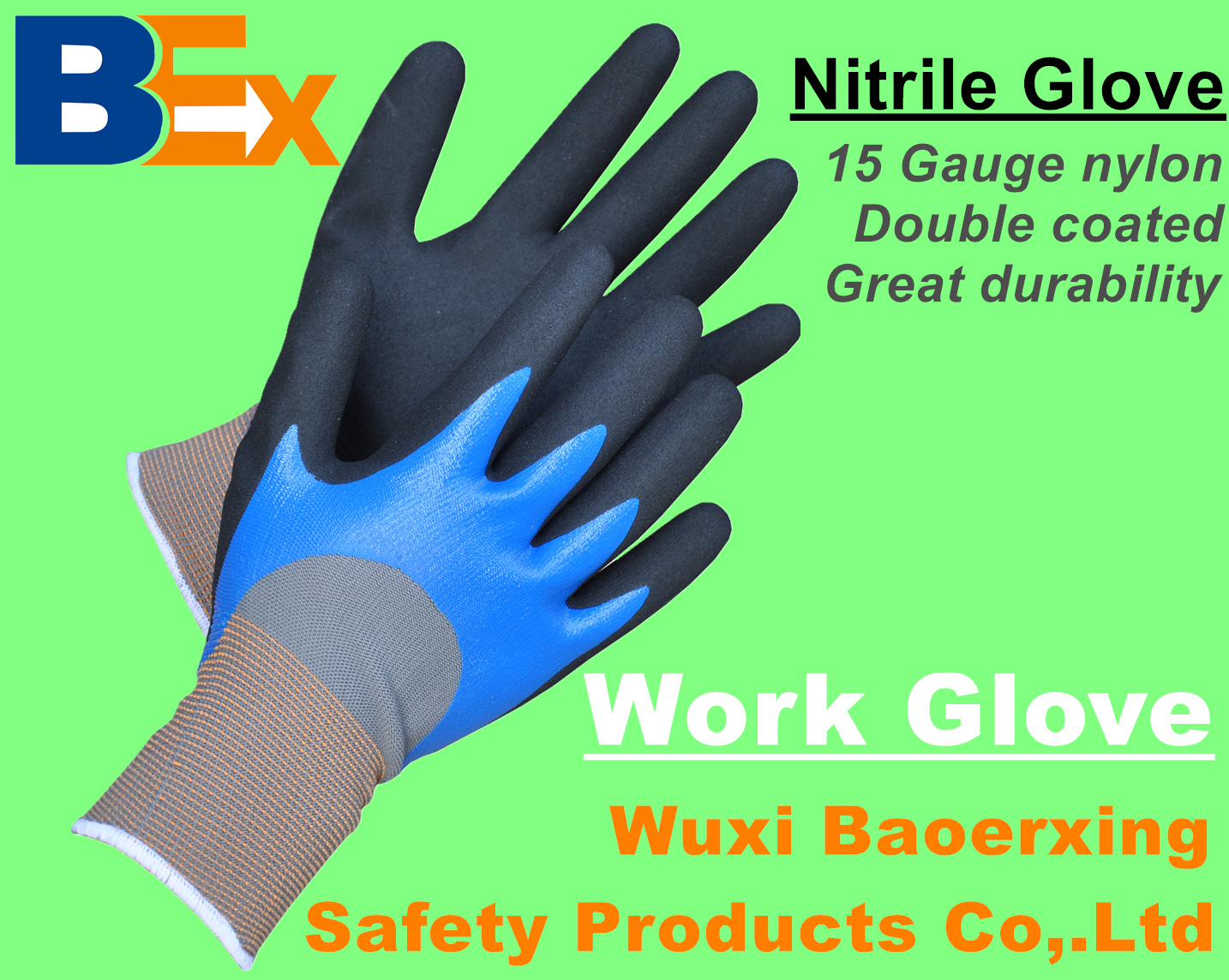 Catalogue of work glove from