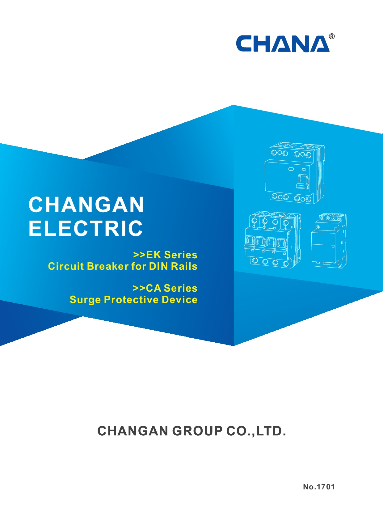 No.1 EK Series Circuit Breaker for Din Rails