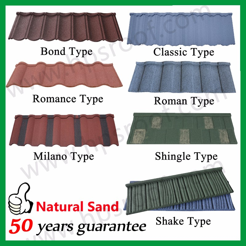 HPS roof tile catalogue product list