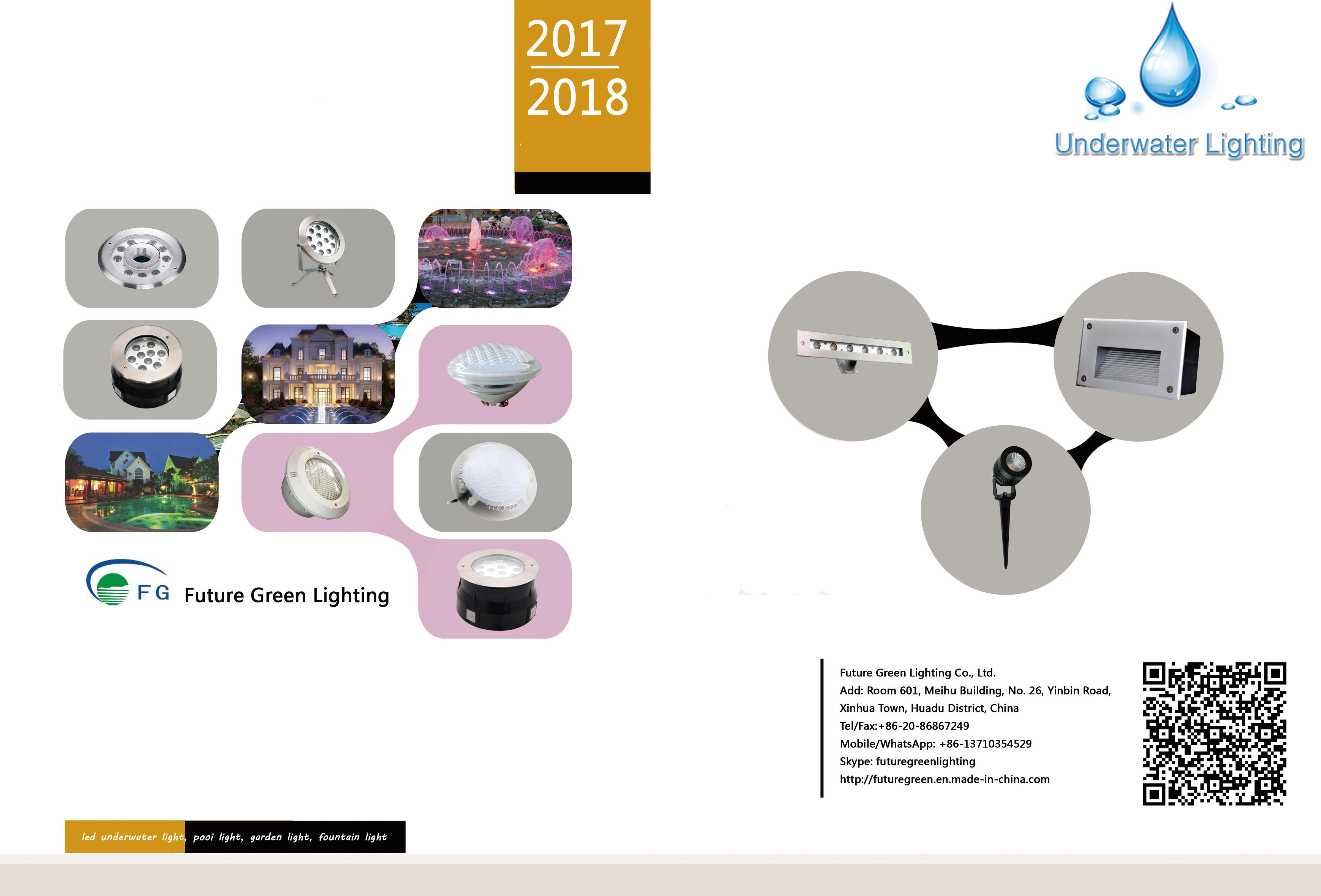 LED Pool light, Underwater light Catalog 2017-2018