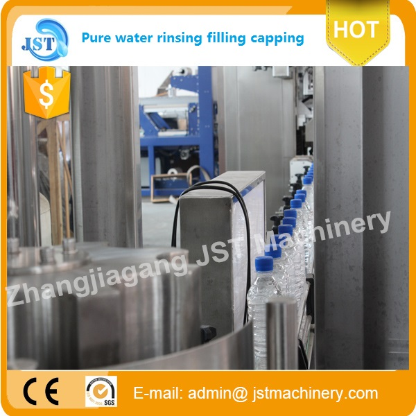 Water filling line detailed photos