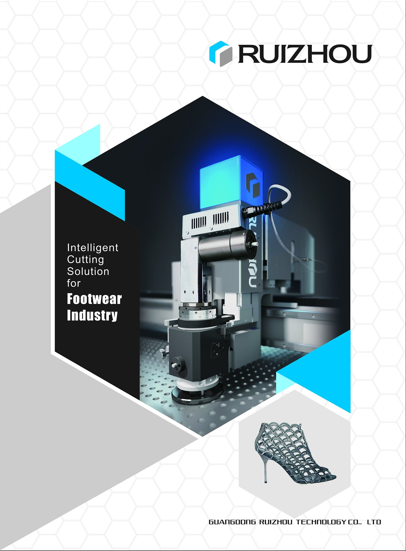 Ruizhou Intelligent Cutting Solution for Footwear Industry