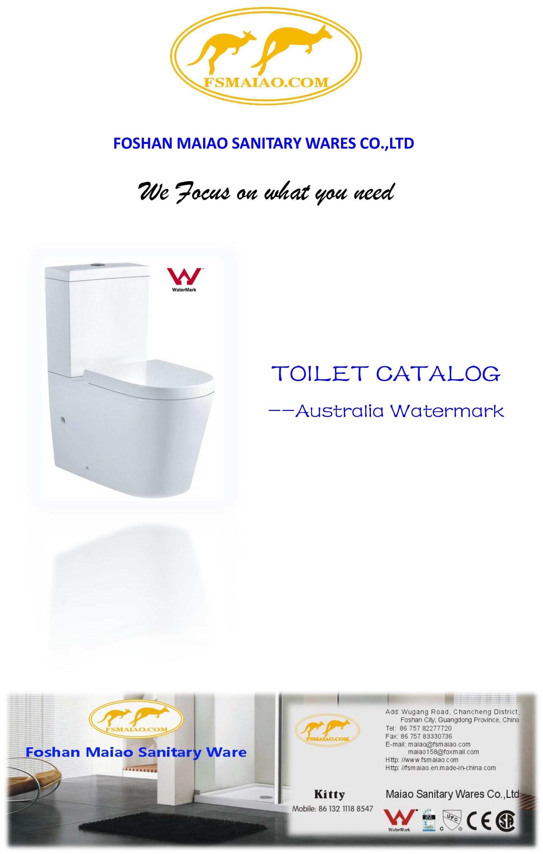 Australia Toilet Catalog
