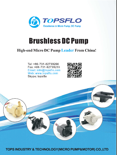 TOPSFLO Brushless DC Mini Pump