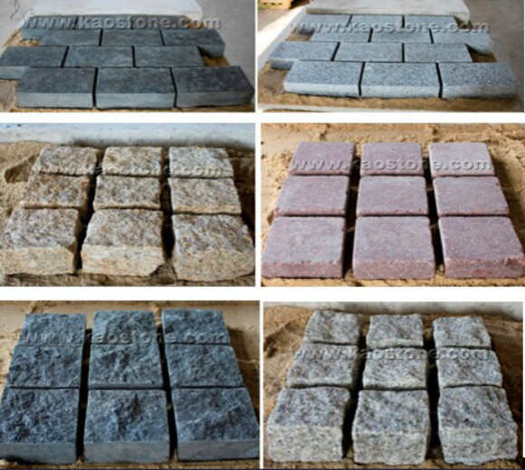 Cobble Paving stone & Kerbstone catalog