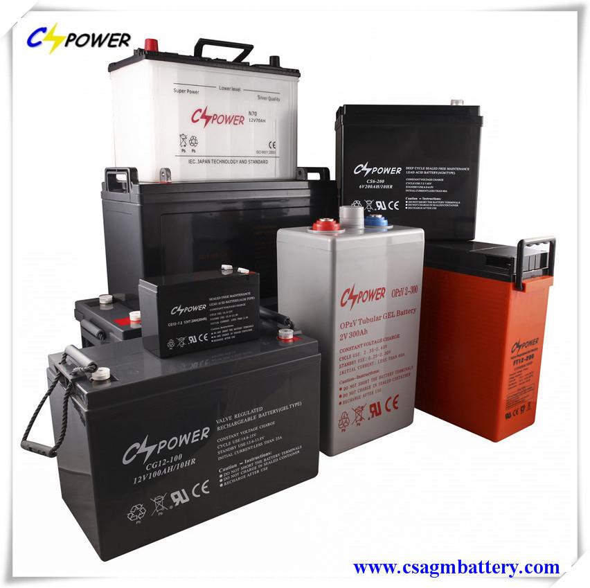 CSPOWER Battery Catalogue 2016