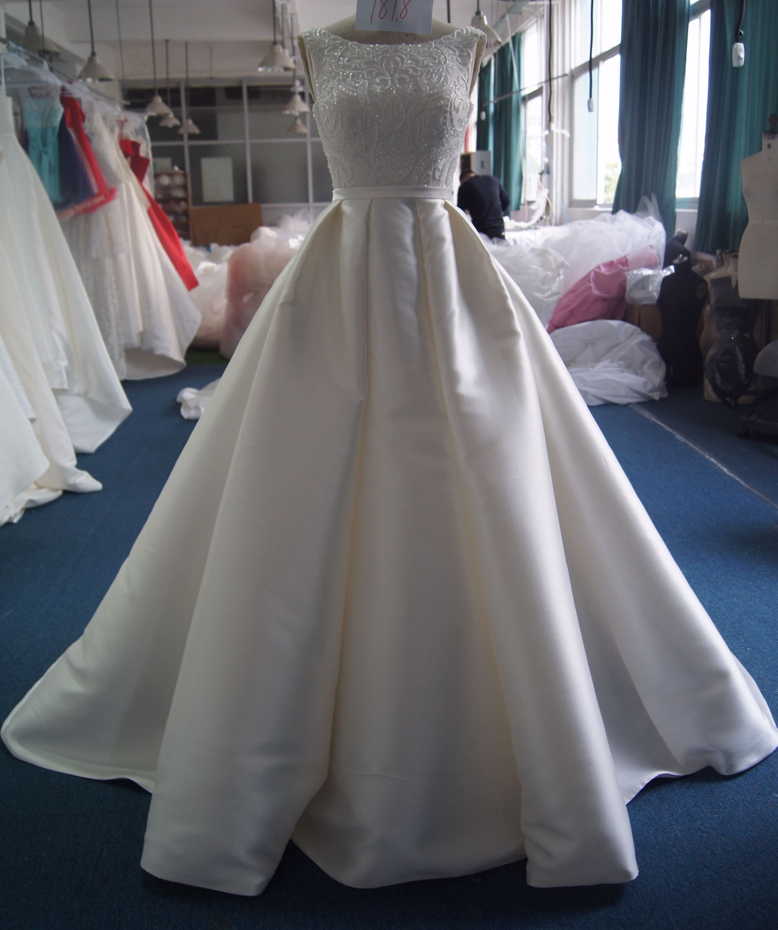 A lot of wedding dress styles for choice