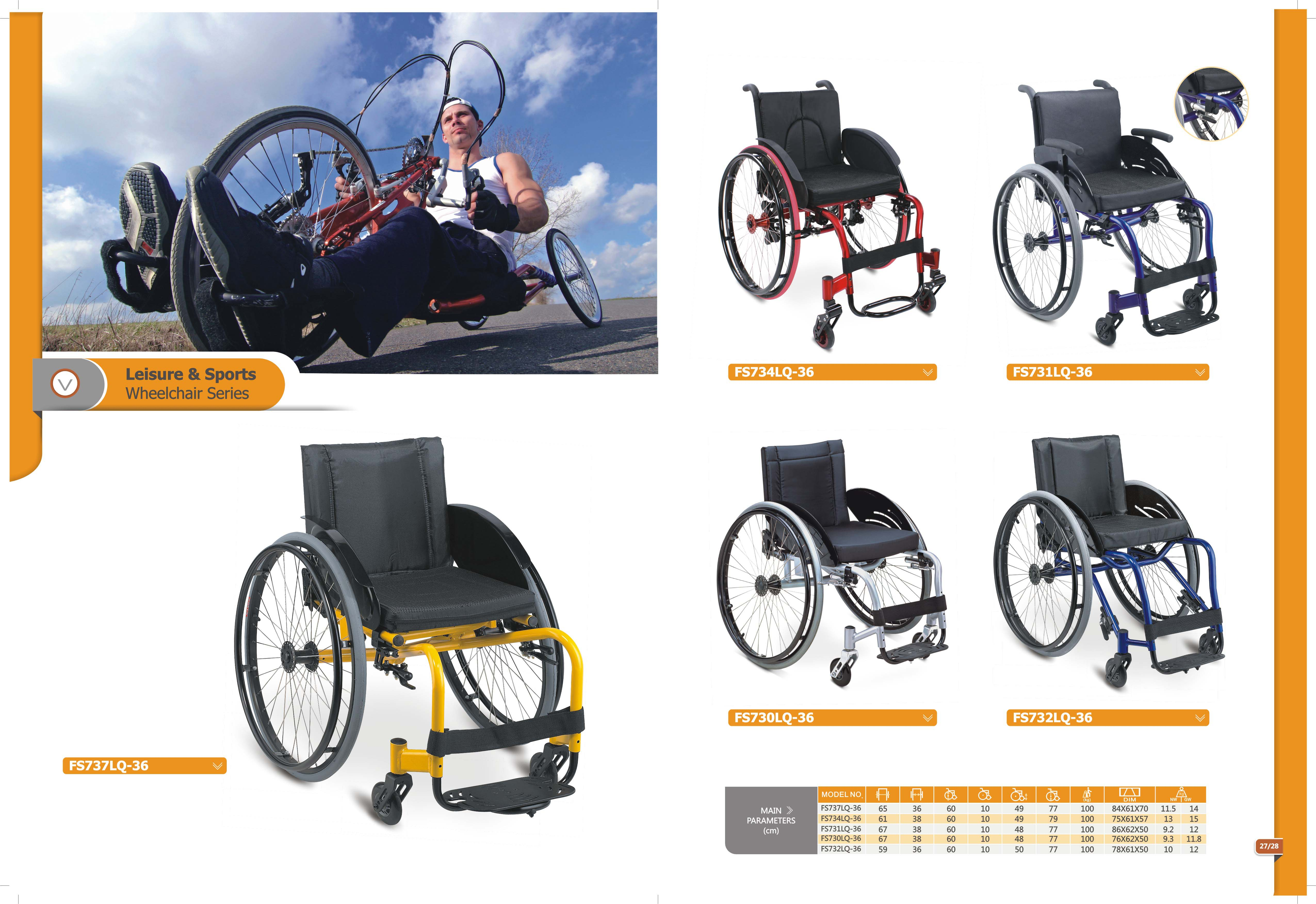 Topmedi Catalogue Sport & Steel Wheelchair