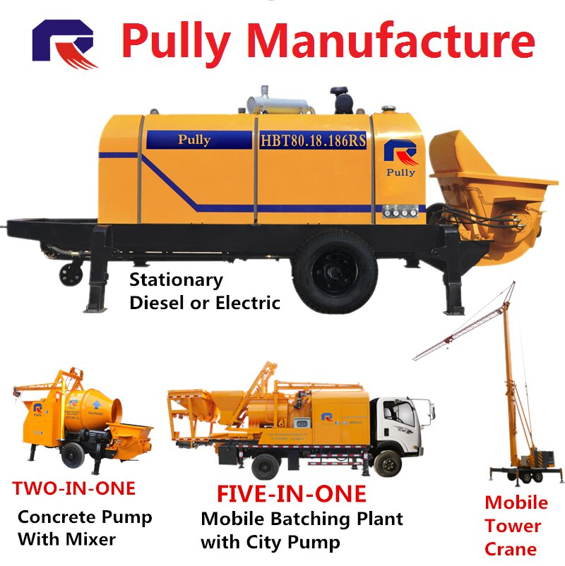 Concrete Pump Brochure Pully Manufacture