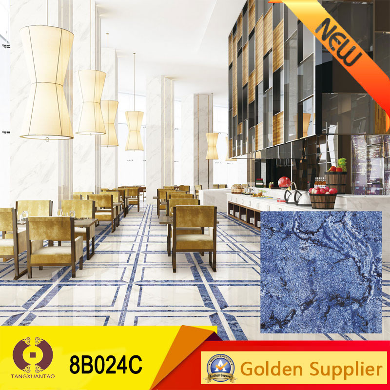 TXT latest polished tile + hot sale rustic tile