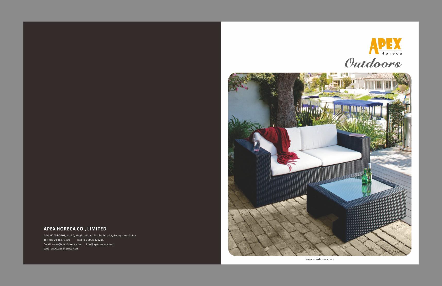 2016 Apex Horeca outdoor collection catalogue