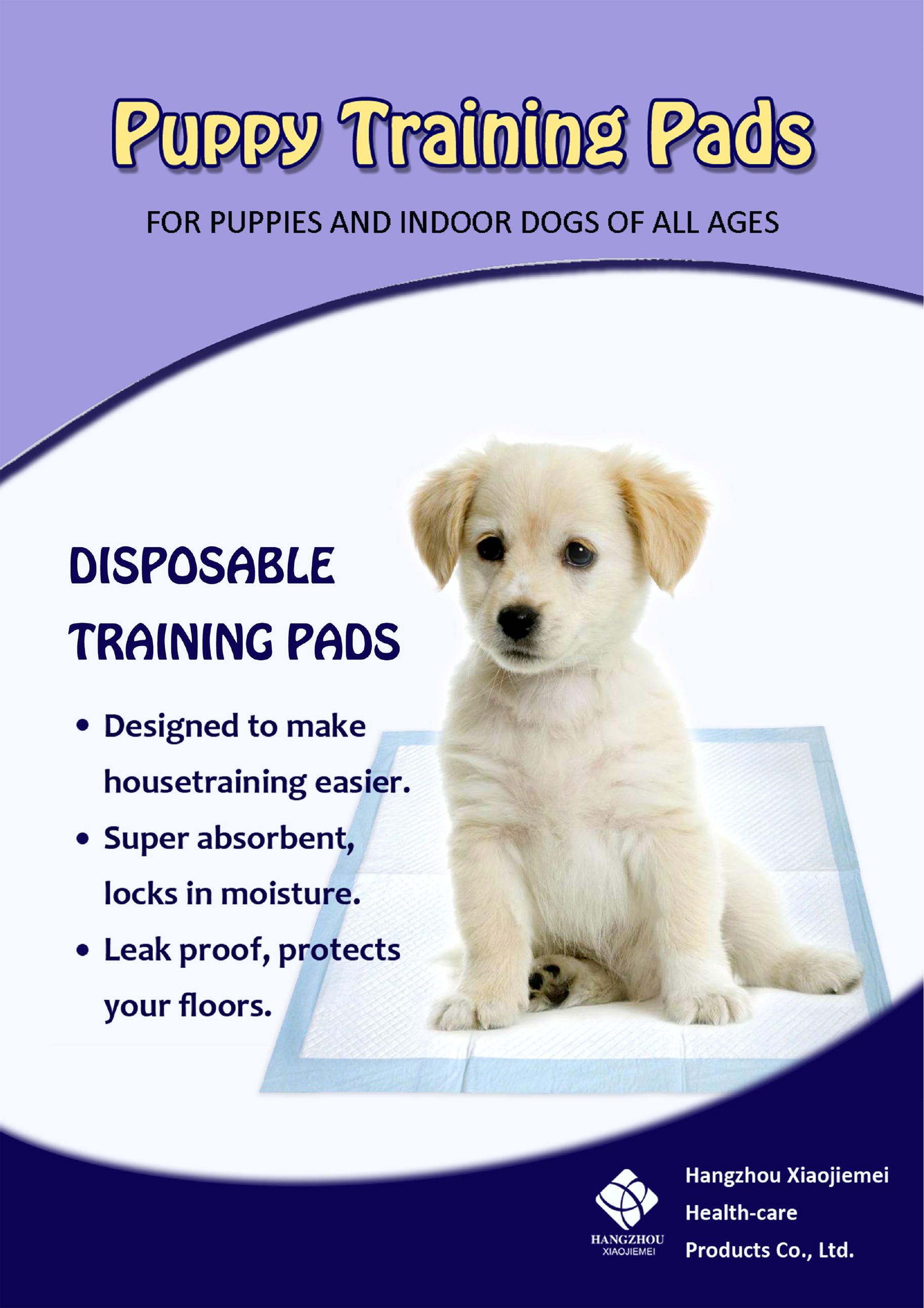 Pet training pad catalogue