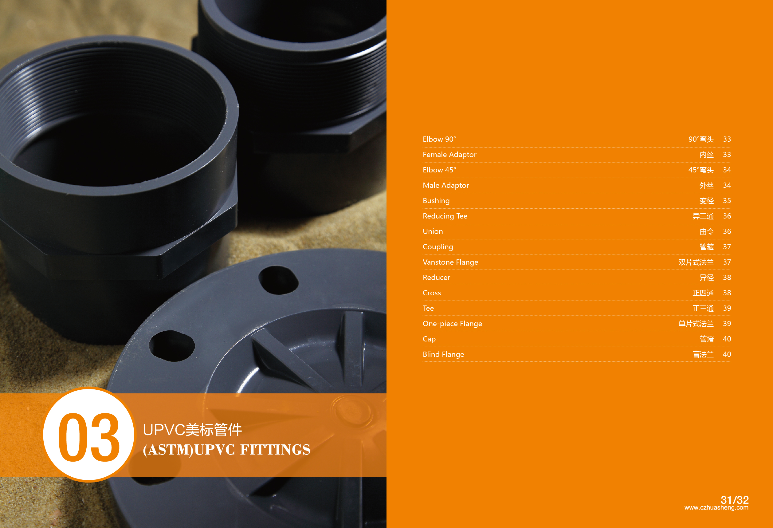 UPVC-ASTM FITTINGS CATALOG