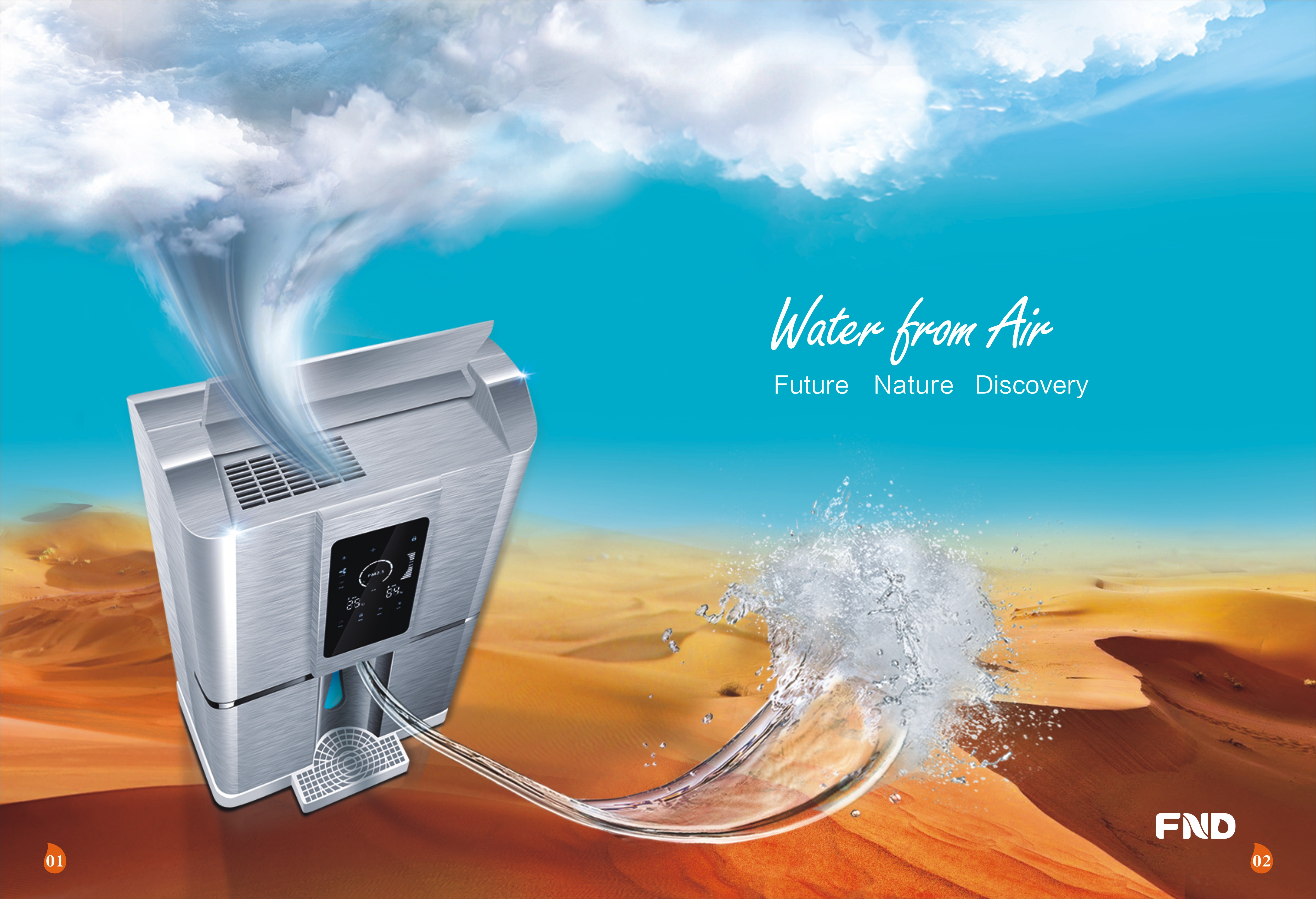 FND Atmospheric Water Generator Catalogue