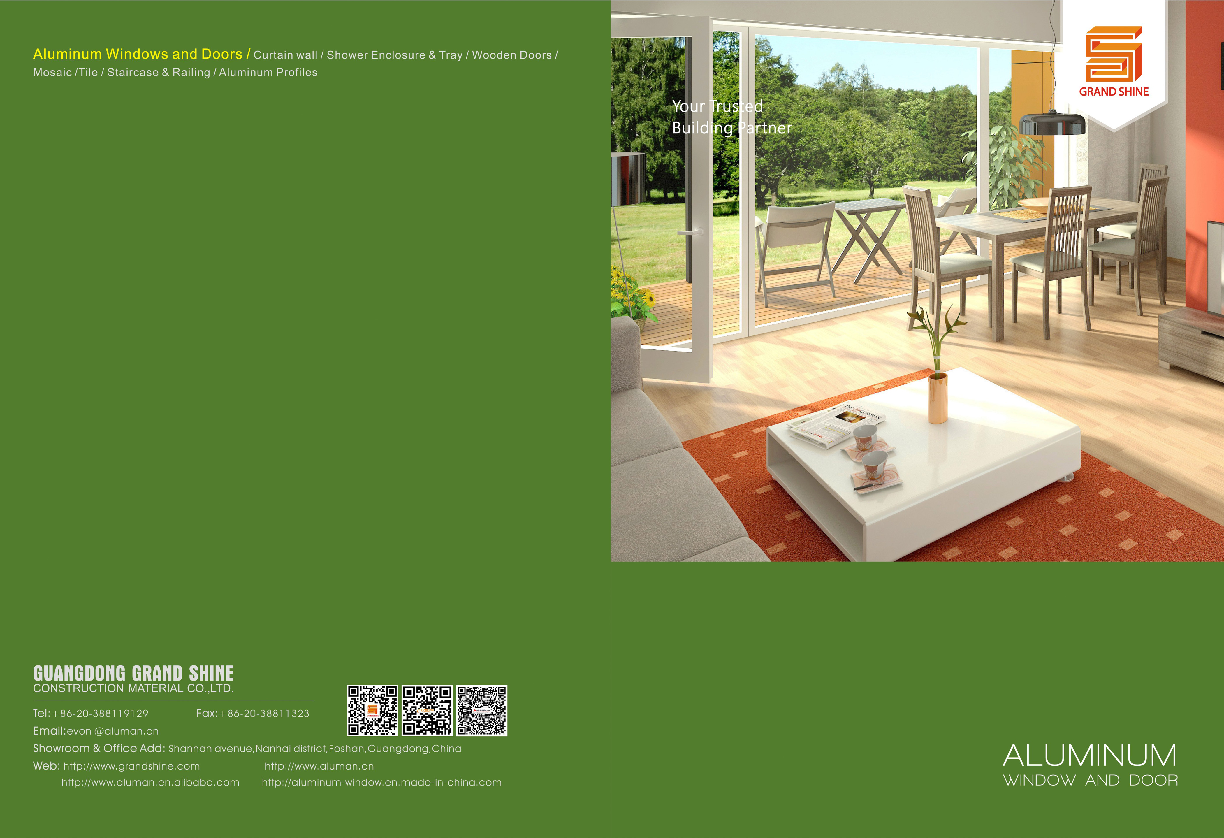 2016 New Catalogue of windows and doors