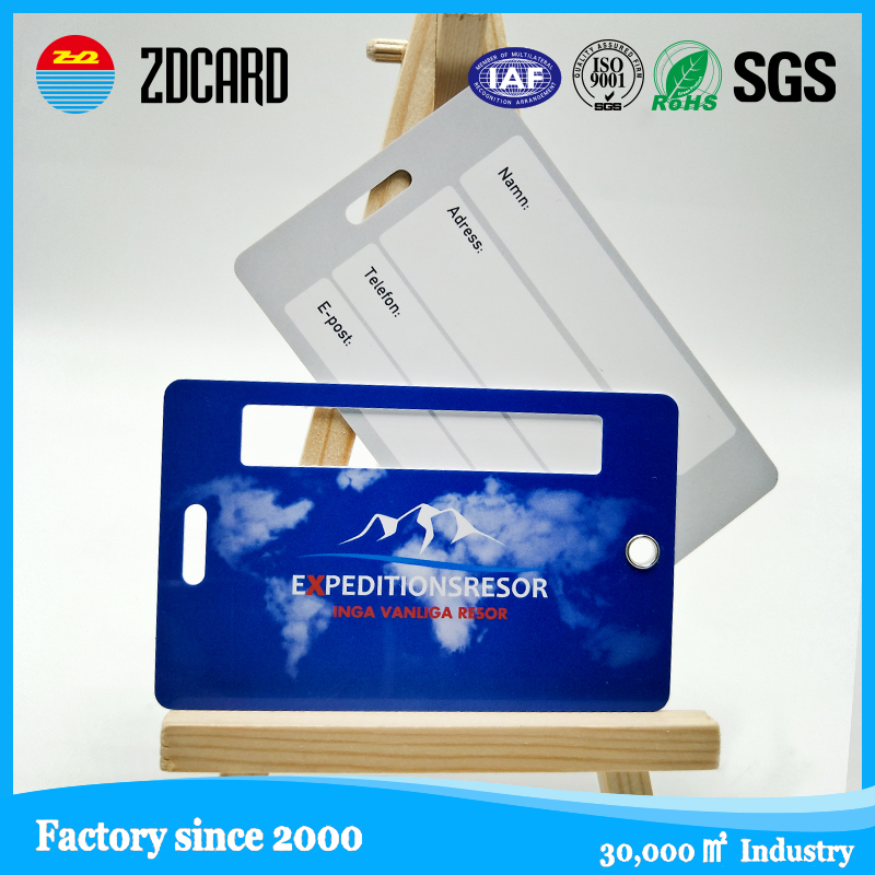 Luggage card