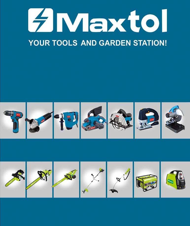 MAXTOL POWER TOOLS -BLUE 2016