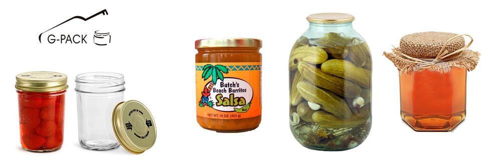 Set of Glass Jars List