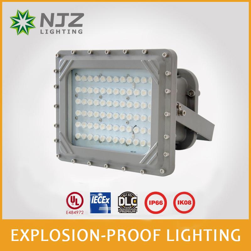 Explosion proof light for hazardous locations
