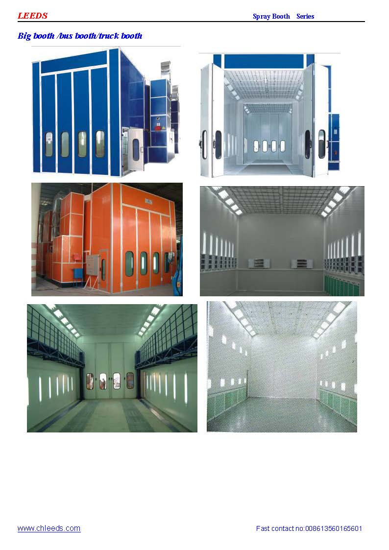 update spray booth catalogue