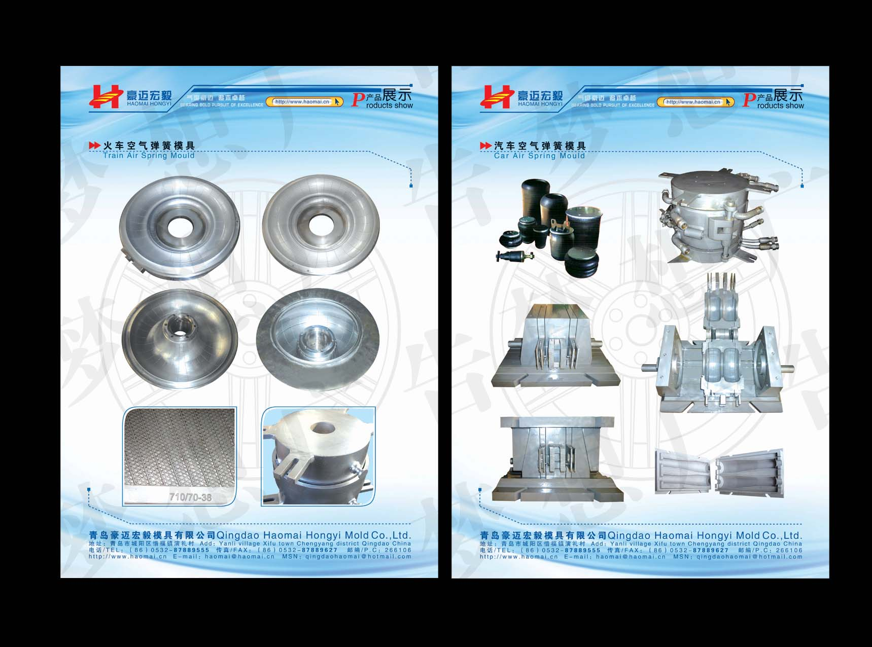 Air spring mould & bladder mold