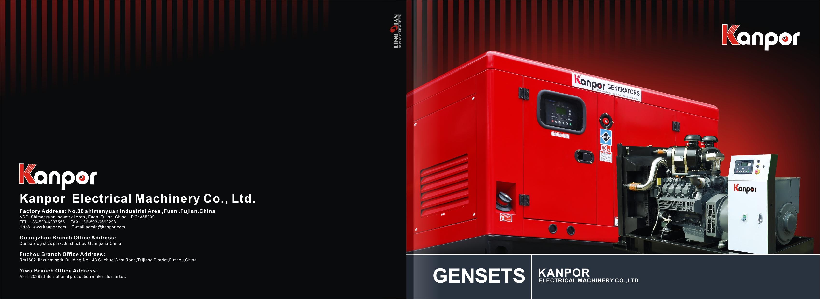 Kanpor generator Catalogue-Kevin Lu