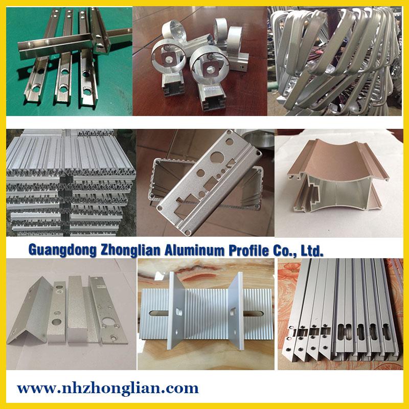 Aluminium CNC process series