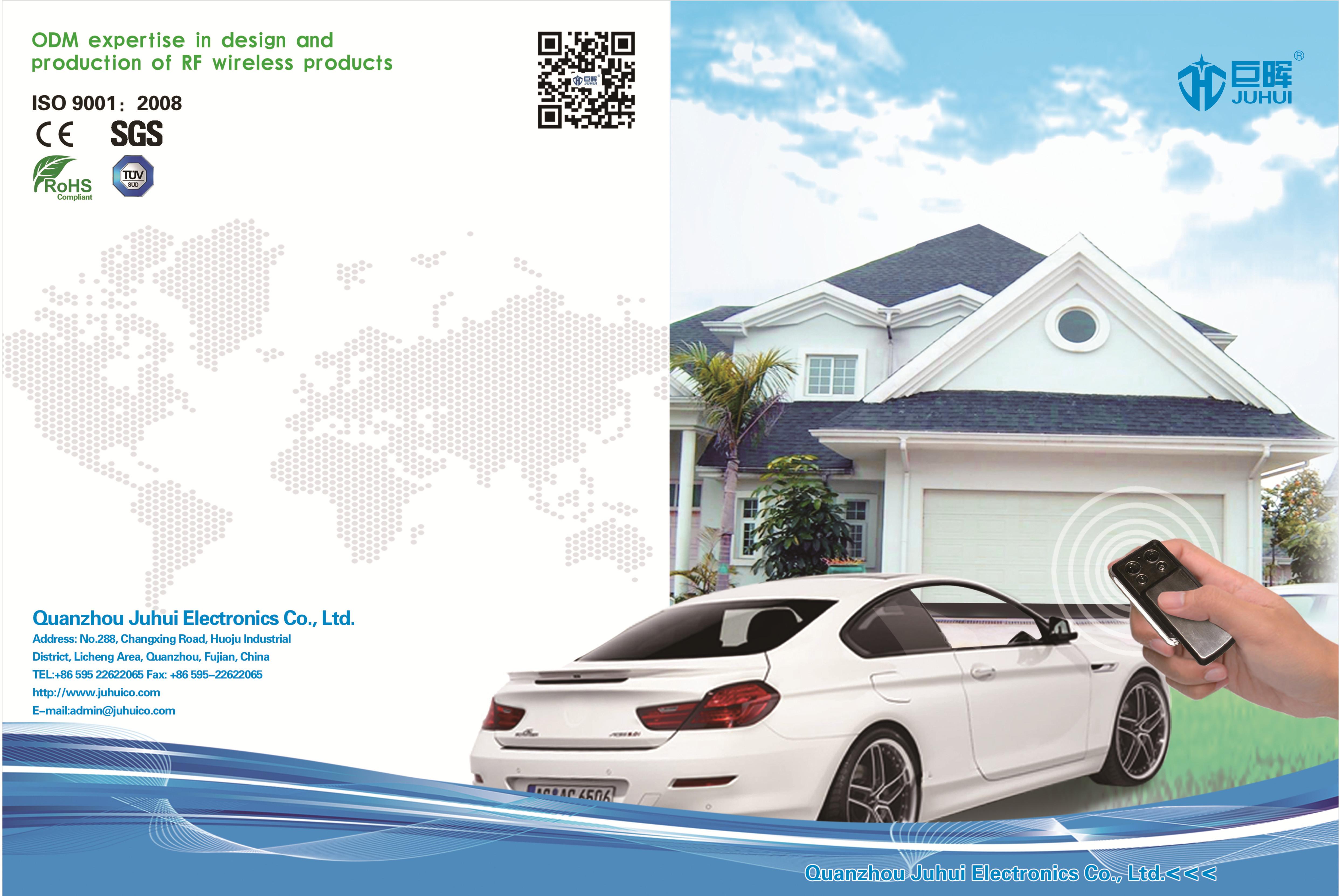 Juhui Remote Control Catalogue