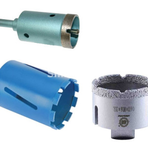 Diamond Core Drill Bits for Drilling Concrete with Metal Bar, Wall, Glass, Ceramic etc