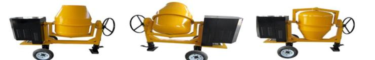 Industrial Concrete Mixer