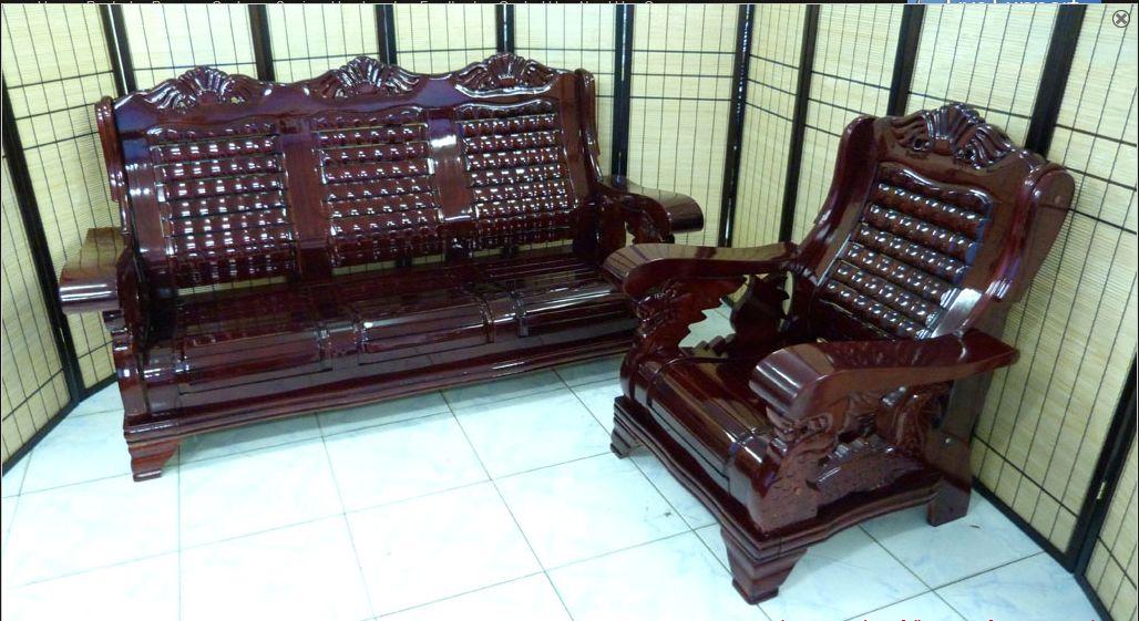 Wooden Salaset on Narra Furniture Philippines