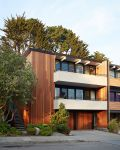 White and Mahogany Palette Revitalizes 1962 Eichler Home in San Francisco