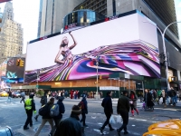 Clear Channel Introduced The Largest,Most Technically Advanced Billboard in The World