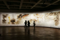 Suzhou Displays Cai Guoqiang's Gunpowder Art 'day and Night'