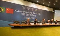 China-Brazil Commercial Summit Held in Brasilia