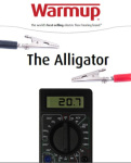 Warmup's New Alligator Meter Has Six-Inch Alligator Clips