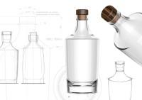 Nude Brand Creation Designs Two New Bottles for Steklarna Hrastnik
