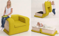 Special Folding Sofa Bed Designed by Russian Designer Elena Sidorova