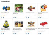 Shop for Experienced Amusement Equipment Suppliers in Outdoor Amusement