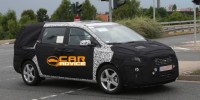 The All-New KIA Grand Carnival Is Testing in Germany