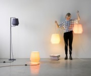 The Light in The Mountains inspired Elements Lamps