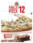 Papa John's Relaunched Philly Cheesesteak Pizza to Cater to The Growing Consumer Demand