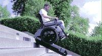 A Wheelchair Can Climb Stairs: Scalevo
