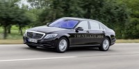 a Mercedes-Benz S-Class Has Driven Without Driver Input for a Total of 125km